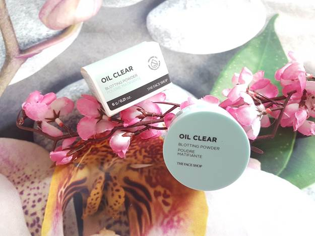 Phấn phủ bột kiềm dầu The Face Shop Oil Clear Blotting