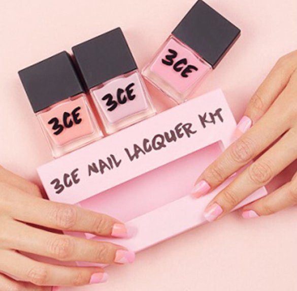 Sơn móng 3CE Makeup PINK RUMOUR NAIL LACQUER KIT