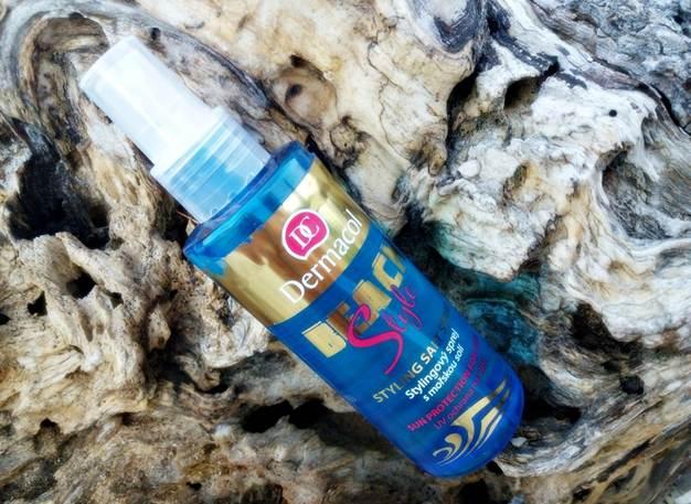 xịt tóc chống nắng Dermacol Suncare Beach style – styling salt spray