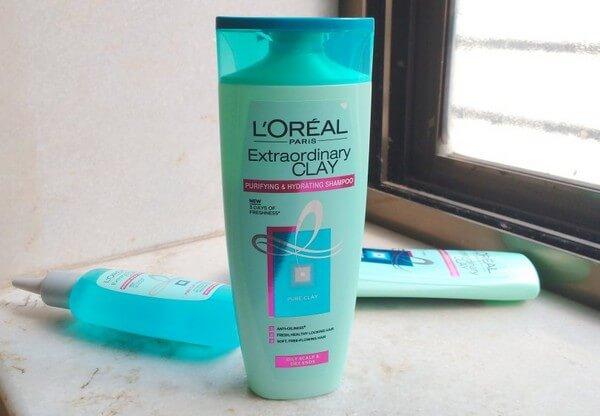 Dầu gội L'Oréal Chăm sóc tóc Extraordinary Clay Shampoo