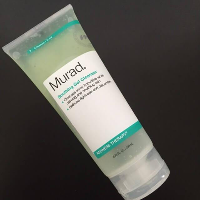 gel rửa mặt Murad Làm sạch SOOTHING GEL CLEANSER