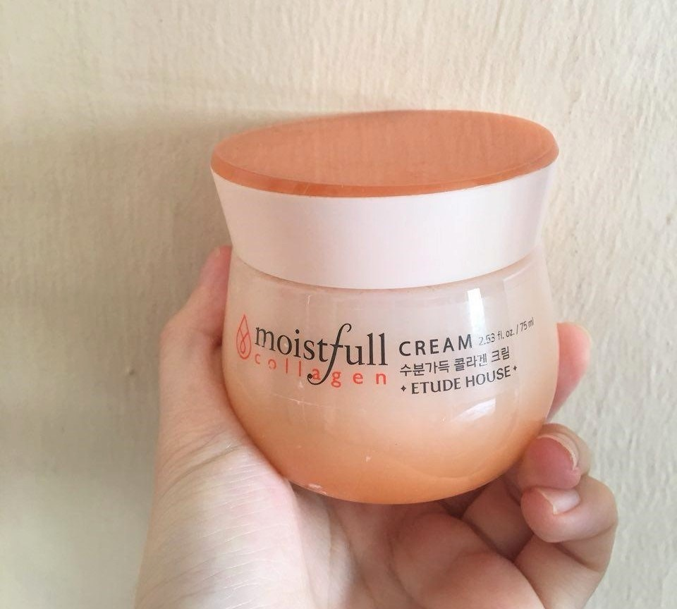 Kem dưỡng ETUDE HOUSE SKINCARE Moistfull Collagen Cream