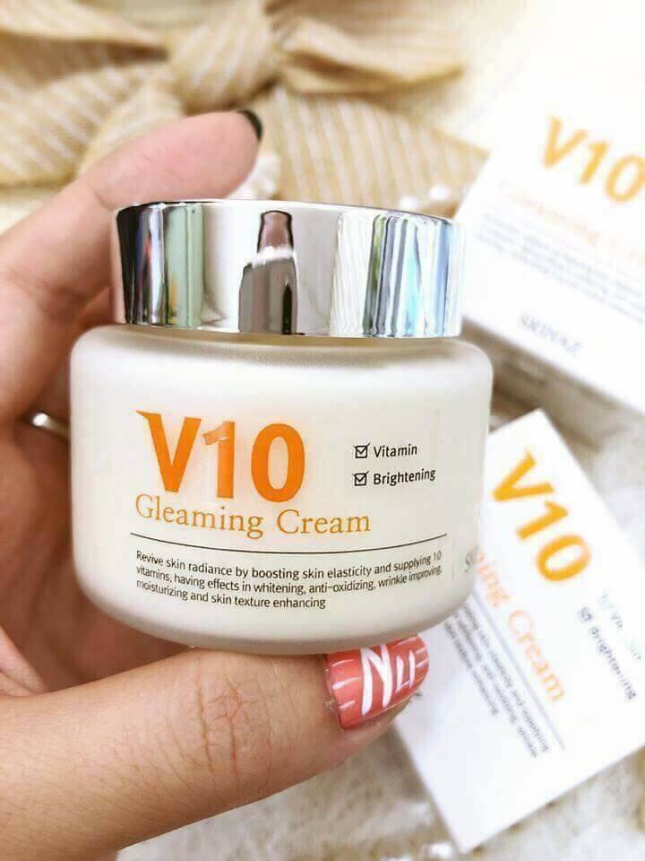 kem dưỡng skinaz V10 Gleaming Cream Skinaz