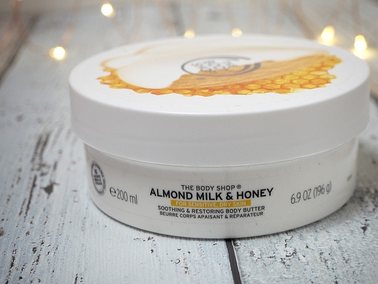 Kem dưỡng TheBodyShop ALMOND MILK&HONEY CALMING&PROTECTING BODY 200ML