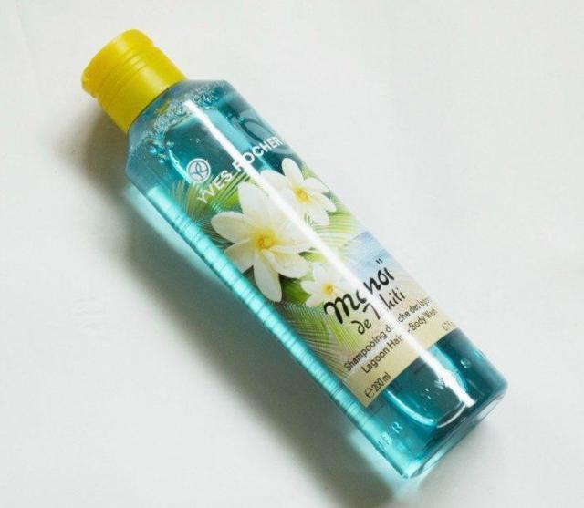 Kem tắm 2in1 Yves Rocher Hair Lagoon Hair & Body Wash