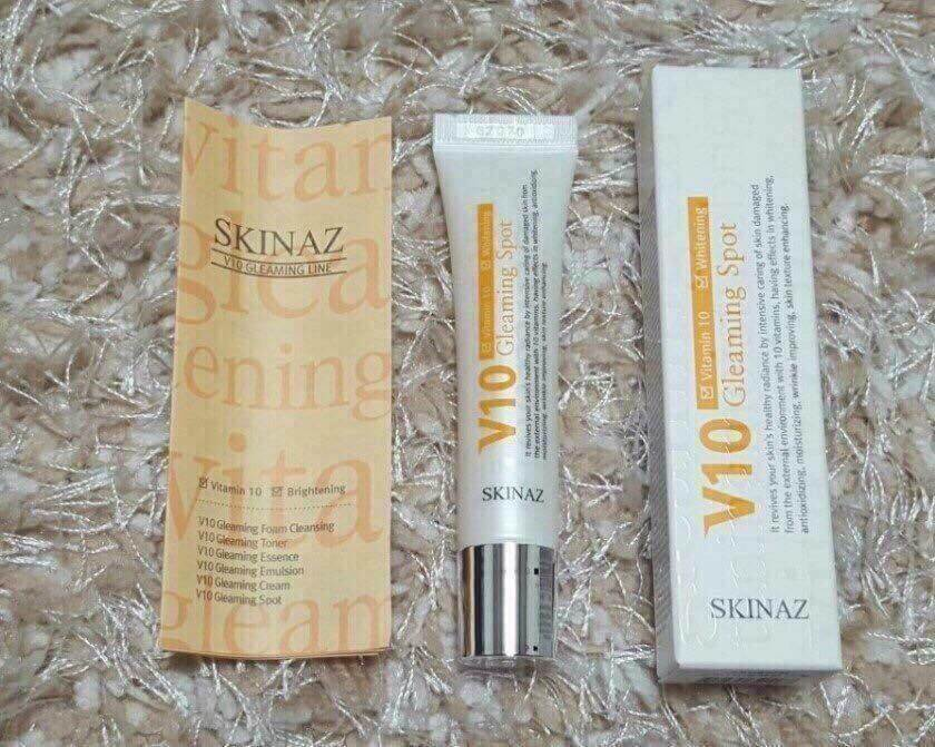 serum skinaz V10 Gleaming Spot Skinaz