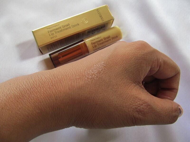 Son dưỡng tái tạo môi tonymoly makeup TIMELESS FERMENT SNAIL LIP TREATMENT STICK SPF13