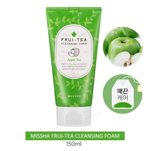 Sữa rửa mặt MISSHA SKINCARE MISSHA FRUI-TEA CLEANSING FOAM (APPLE TEA)