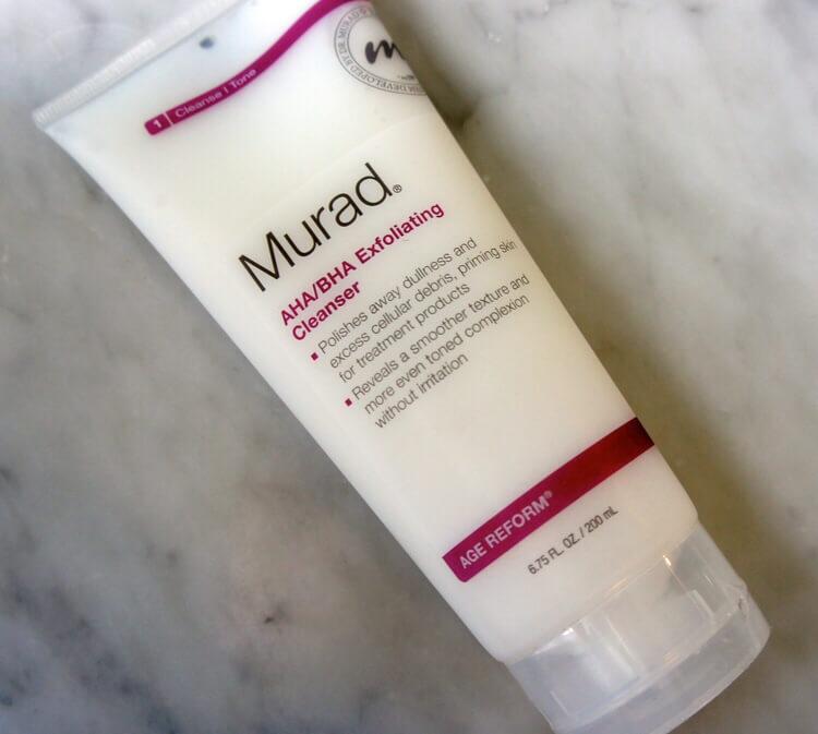 sữa rửa mặt Murad Làm sạch AHA/BHA EXFOLIATING CLEANSER
