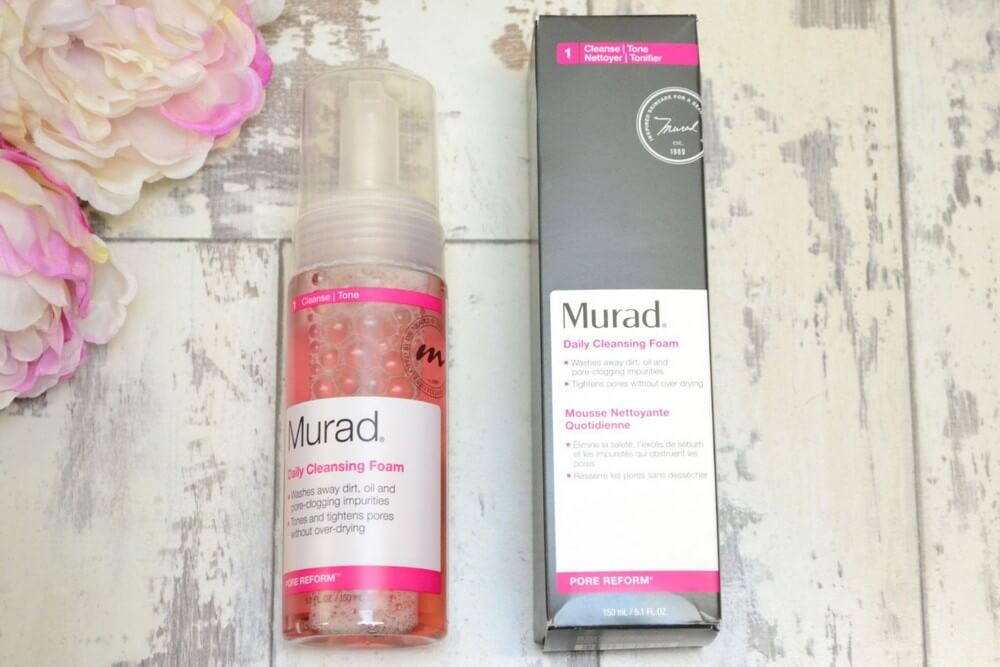 sữa rửa mặt Murad Làm sạch DAILY CLEANSING FOAM