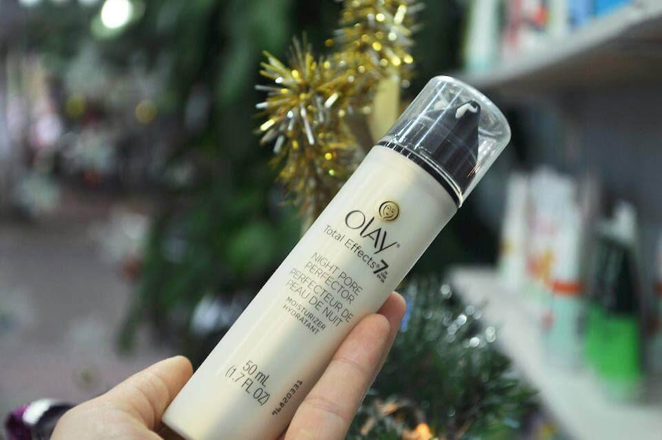 Tinh chất Olay TOTAL EFFECTS NIGHT PORE PERFECTOR