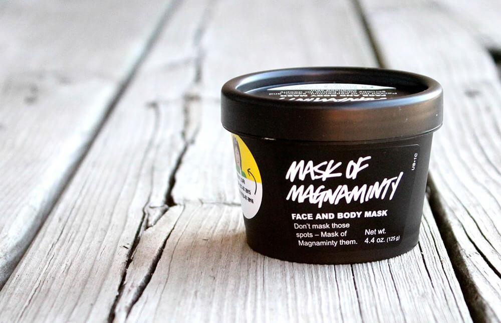 Review mặt nạ đất sét Lush Mask Of Magnaminty