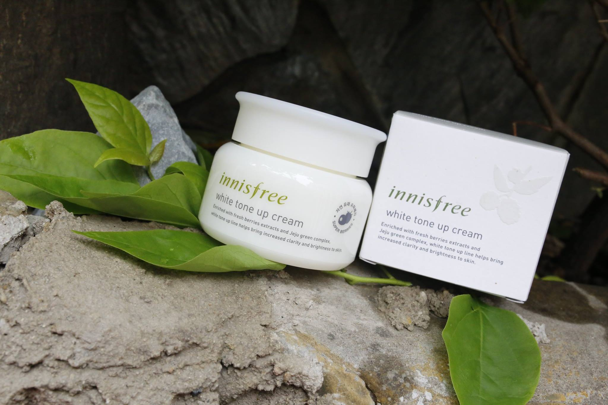 Innisfree White Tone Up Cream