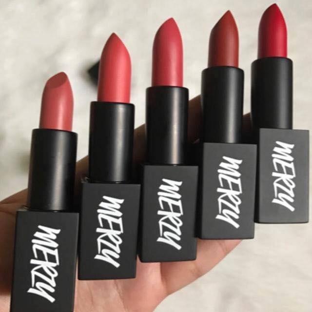 Merzy Another Me The First Lipstick - môi xinh cùng bảng màu trendy nhất