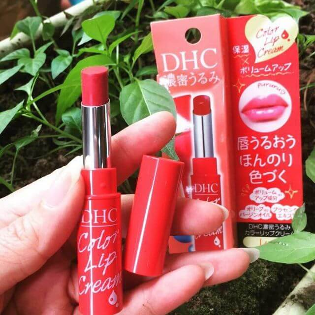 Son dưỡng DHC có màu Color Lip Cream
