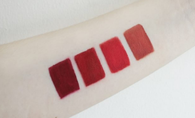 review miracle apo lip lacquer matte - holiday collection