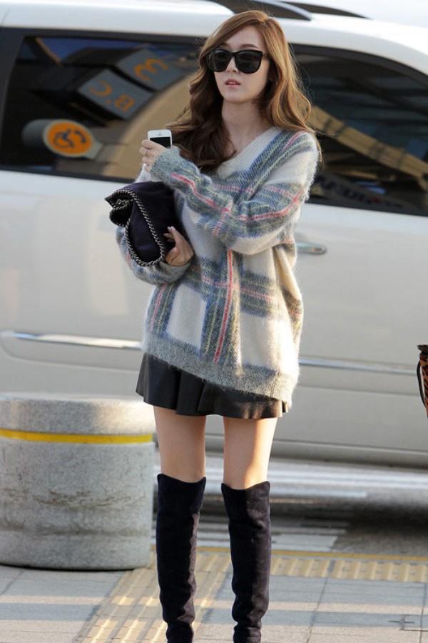 Cách phối màu quần áo đẹp như sao Hàn