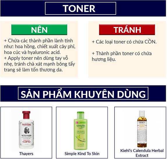 Da nhạy cảm nên dùng kem dưỡng da nào