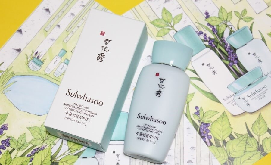 Sữa chống nắng Sulwhasoo Hydro-aid Moisturizing Soothing UV Protection Fluid