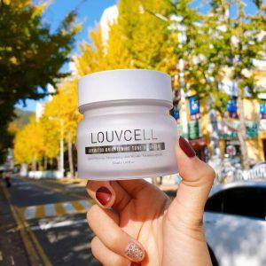 3 tuần dưỡng trắng với kem truyền trắng Louv Cell Dermatox Brightening Tone Up Cream