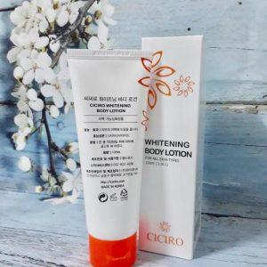Whitening body lotion Ciciro – nuôi dưỡng làn da khỏe mạnh trắng sáng từ sâu bên trong