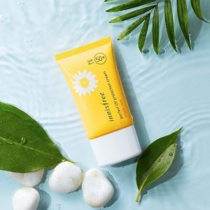 [Review] Kem Chống Nắng Innisfree Perfect UV Protection Cream Triple Care