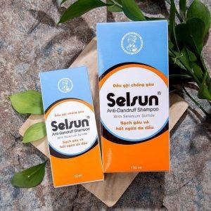 Diệt gàu tận gốc Rohto Selsun Anti – Dandruff Shampoo