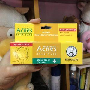 Gel Acnes trị thâm Scar Care trả lại vẻ trắng sáng, mờ thâm sạch mụn cho làn da của bạn