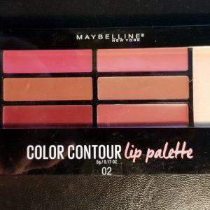 Color Contour Lip Palette – Bảng son ngon-bổ-rẻ của Maybelline bạn đã biết chưa?