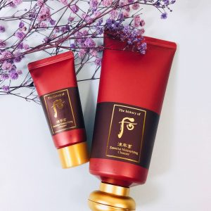 Bộ kem tẩy trang Whoo Jinyulhyang Essential Moisturizing Cleanser Set cho mọi loại da