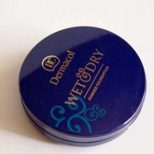 Bột nền Dermacol Make Up Wet & dry powder foundation-sản phẩm hai trong một hoàn toàn độc đáo.