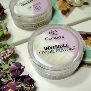 Bột phủ kiềm dầu Dermacol Make Up Invisible fixing powder