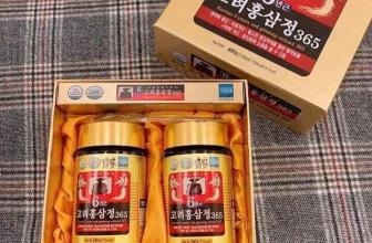 Cao hồng sâm 365 Hàn Quốc 6 năm tuổi hộp 2 lọ