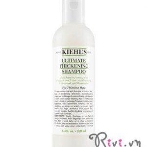 Dầu gội Kiehl's phục hồi tóc Ultimate Thickening Shampoo, đây là cách giúp mái tóc bạn chắc khỏe!