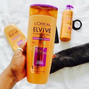 L'oreal Paris Extraodinary Oil Shampoo – dầu gội tốt cho tóc xoăn???