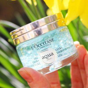 """Kem dưỡng ẩm Loccitane Aqua Reotier cho làn da """"đắm mình trong đại dương xanh"""""""
