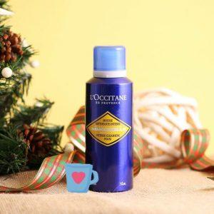 Gel rửa mặt Loccitane Immortelle Intense Cleansing Foam cứu tinh cho các nàng da dầu, da mụn