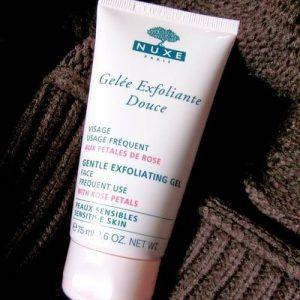 Gel NUXE rửa mặt Gentle Exfoliating Gel, có được làn da sạch tươi mà không tốn nhiều thời gian!