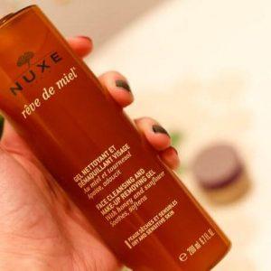 Gel tẩy trang NUXE Rêve de miel cleansing and makeup removing gel có thật sự thần thánh?