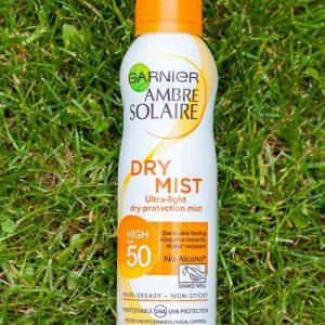 Kem chống nắng Ganier Dry Mist SPF bảo vệ da tối ưu tránh tác hại của tia tử ngoại