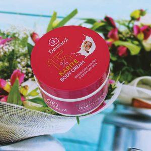 Dưỡng da toàn thân với Dermacol Karité body cream.