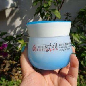 Kem dưỡng ẩm Etude House Moistfull Collagen Water Jelly Cream – lựa chọn tuyệt vời cho da vào những ngày hè