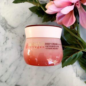 Những sự thật thú vị về em kem dưỡng Collagen Deep Cream của hãng Etude house !