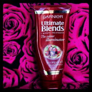 Garnier Ultimate Blends The Colour Illuminator 1 Minute Treatment nuôi dưỡng chuyên sâu, phục hồi mái tóc của bạn