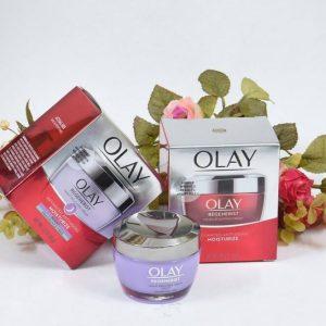 Chăm sóc da ban đêm cùng Olay Regenerist Night Recovery Cream