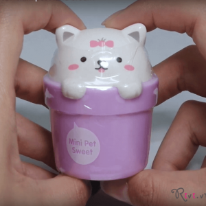 Kem Dưỡng Tay The Face Shop LOVELY MEEX MINI PET PERFUME HAND CREAM BABY POWDER