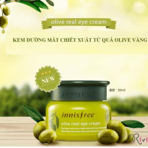 INNISFREE Kem Dưỡng Mắt Olive real eye cream 30ml