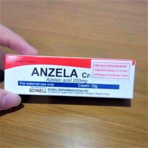 Anzela Cream – kem bôi da đặc trị thâm mụn không đối thủ