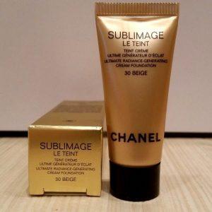 Sublimage Le Teint Ultimate Radiance Generating Cream Foundation – kem nền cao cấp từ Chanel được chiết xuất từ bột kim cương
