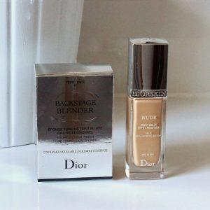 Kem Nền Trang điểm Diorskin Nude Skin-Glowing Makeup SPF 15
